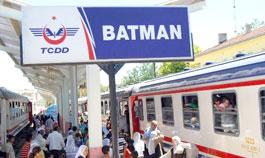 Batman-Diyarbakır arası tren seferleri 2 ay yapılamayacak