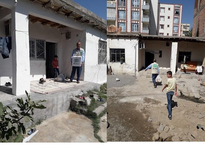 Bismil Umut Kervanı Yardımlarını Sürdürüyor