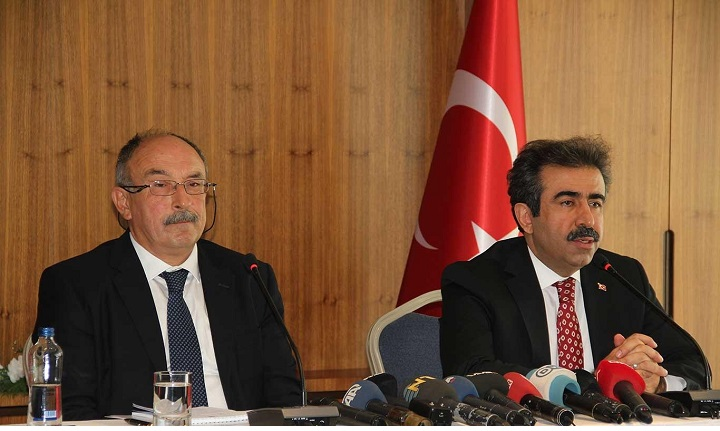 """""""Dışişleri Bakanlığı Diyarbakır İrtibat Bürosu"""" konulu basın toplantısı yapıldı."""