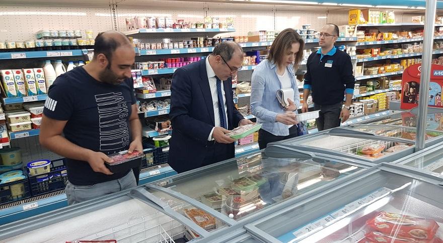 Marketlerde Gıda Denetimi Yapıldı