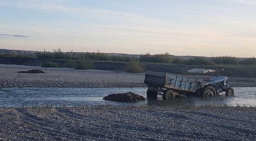 Bismil'de Dicle Nehrini kirleten şahıslar hakkında işlem yapıldı