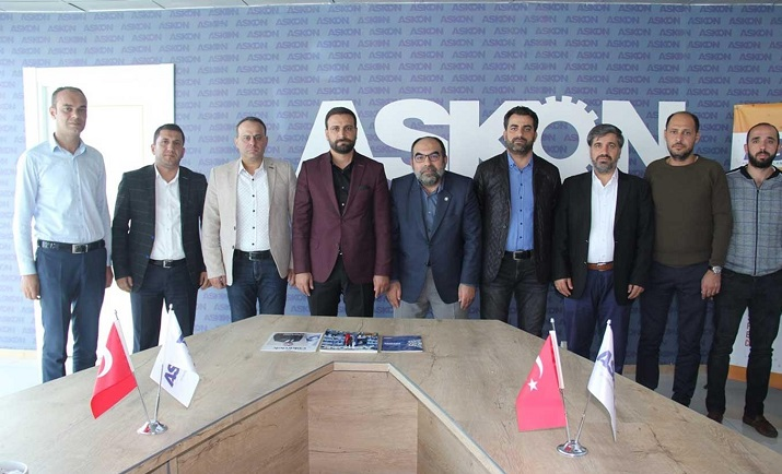 HÜDA PAR Diyarbakır İl Başkanı'ndan iş derneklerine ziyaret