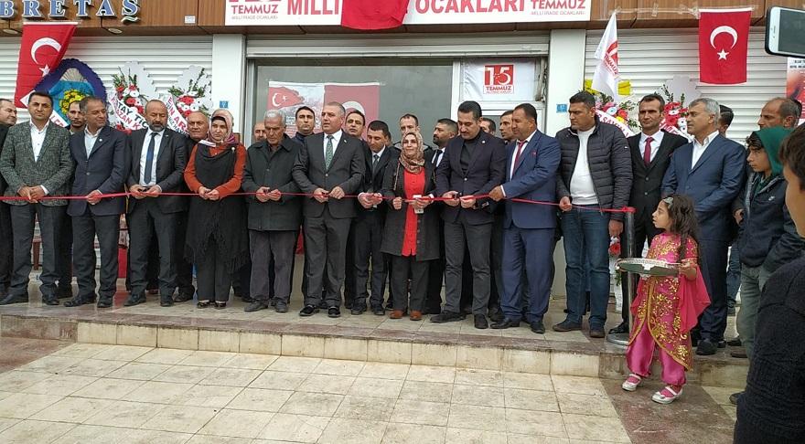 Bismil'de  15 Temmuz Milli İrade Ocakları Şubesi Açıldı