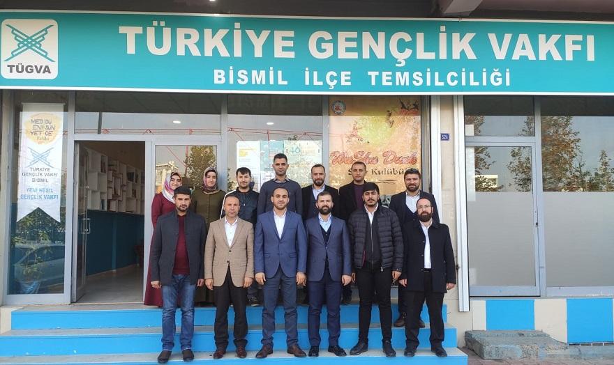 Türkiye Gençlik Vakfı (TÜGVA) 2. Bölge Sorumlusu Kara'dan Bismil'e Ziyaret