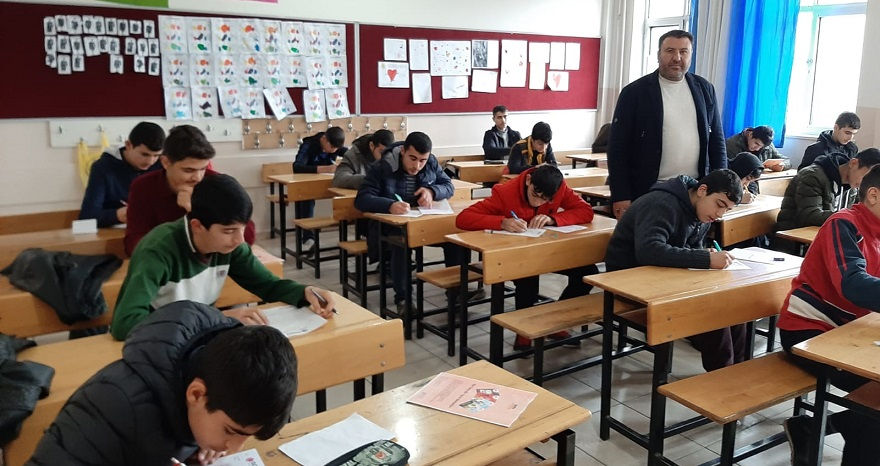 AGD tarafından Bismil'de Siyer Sınavı Yapıldı