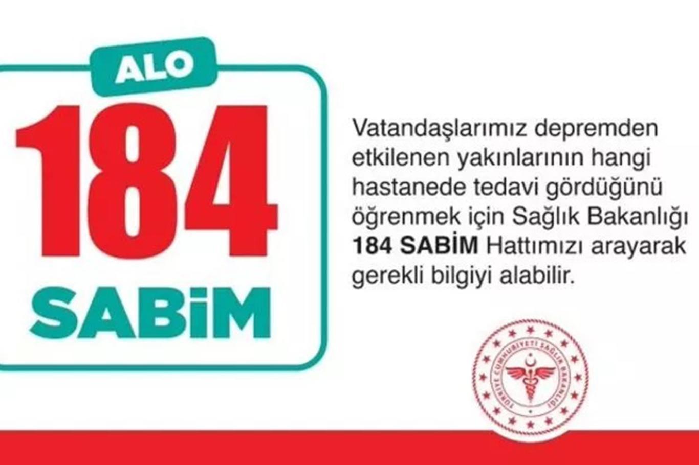 Sağlık Bakanı Fahrettin Koca: Depremden etkilenenlerin durumunu öğrenmek için 184'ü arayın