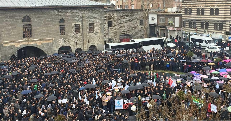 Diyarbakır'da siyonist şer planı telin edildi