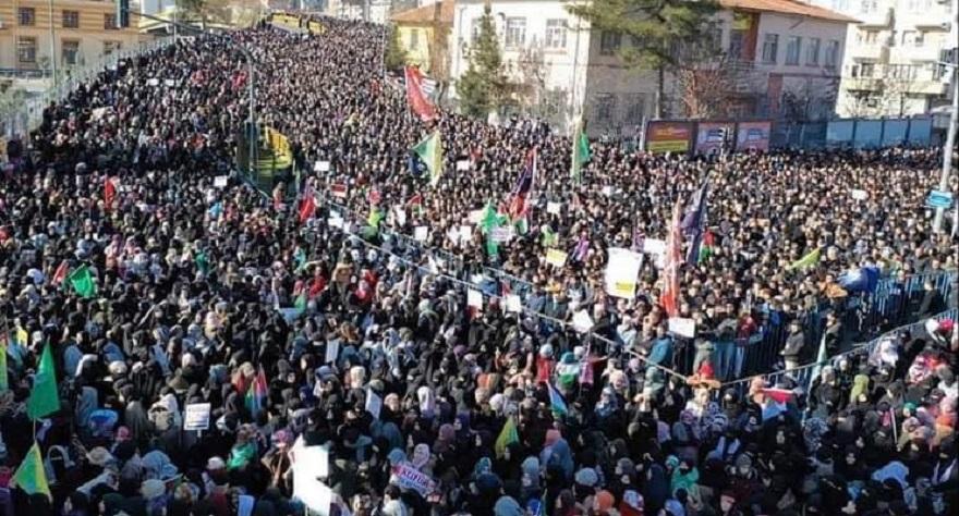 Diyarbakır'daki Kudüs mitinginden ortak mesaj: Müslümanlar birlik olmalıdır