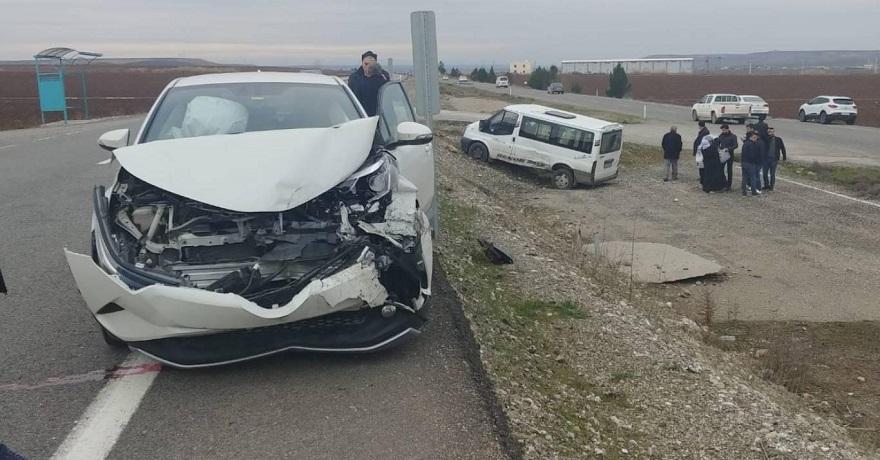 Bismil'de trafik kazası: 5 yaralı