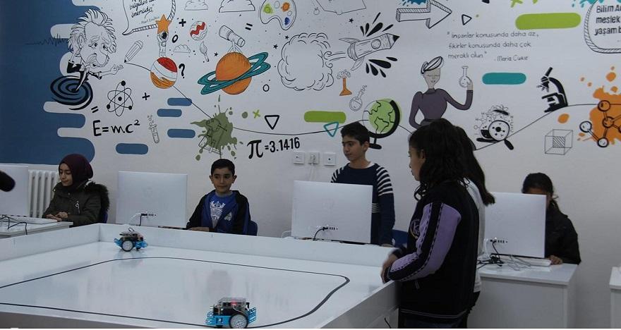 El Cezeri bilim sınıfı açıldı