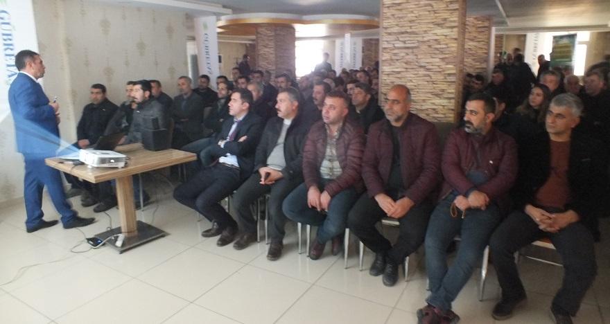 Çiftçilere Yönelik Bilgilendirme Toplantısı Düzenlendi