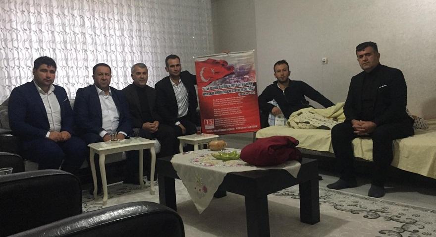 İdlib'de Yaralanan Bismilli Gazi'ye Ziyaretler Devam Ediyor