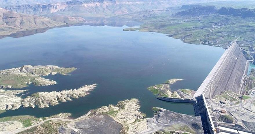 DSİ: Ilısu Barajı'nda su seviyesi 87 metreye ulaştı