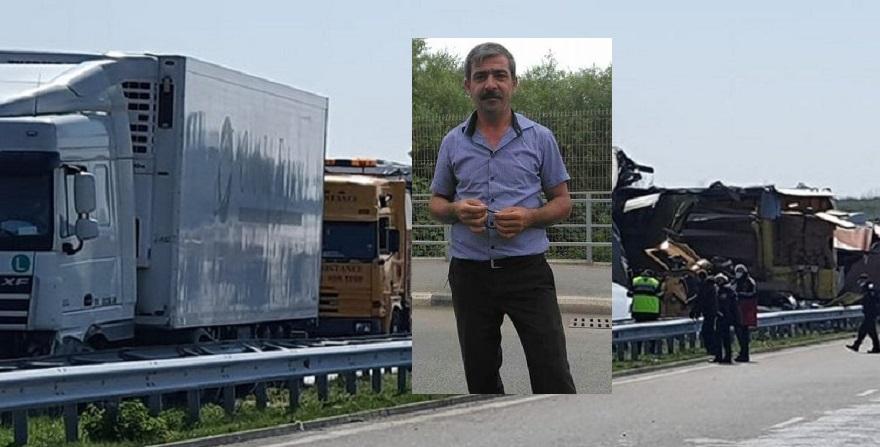 Bulgaristan'da 22 tır zincirleme kaza yaptı: 1 ölü – Yaşamı yitiren Türkiye vatandaşı Bismilli Çıktı.