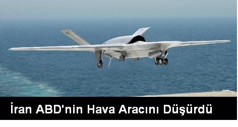 İran ABD'nin İnsansız Uçağını Düşürdü
