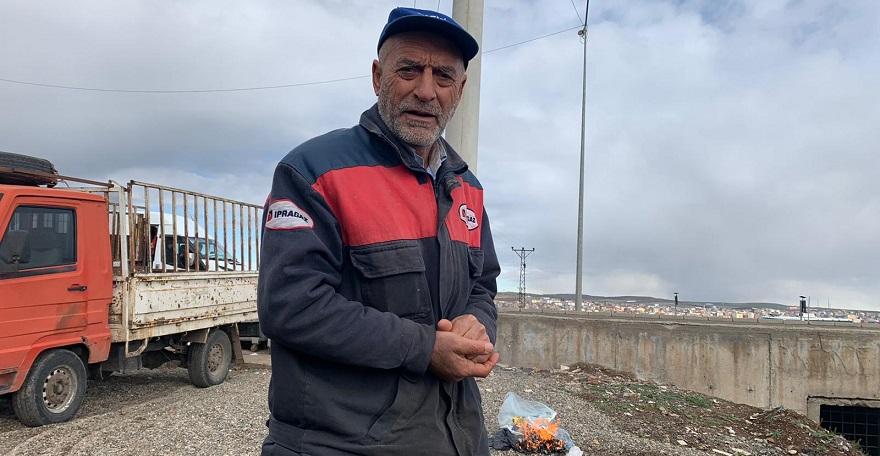Tepe'li Muzaffer Özbek'in çevre duyarlılığı takdir topluyor.