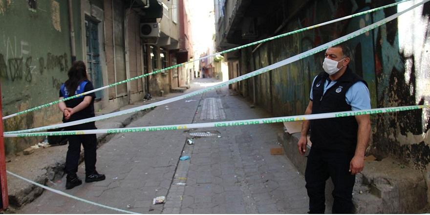 Diyarbakır'da 3 sokak karantinaya alındı