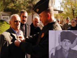 Kürt Reşo'ya 39 yıl sonra İstiklal Madalyası