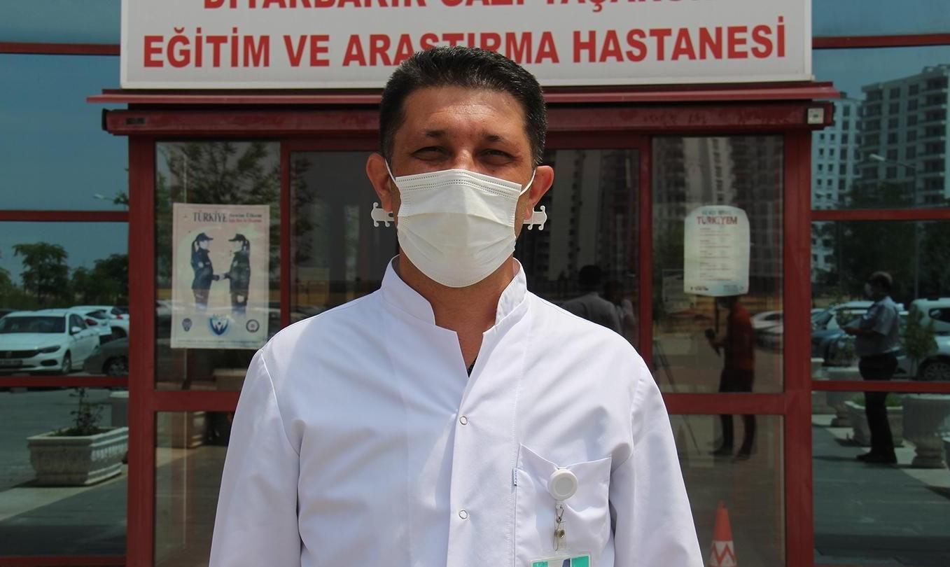 """Uz. Dr. Karakoç: """"Diyarbakır'da kurallara uyulmadığı için"""