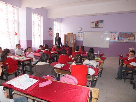 Tepe İlköğretim Okulu'nda Kütüphane açılışı yapıldı