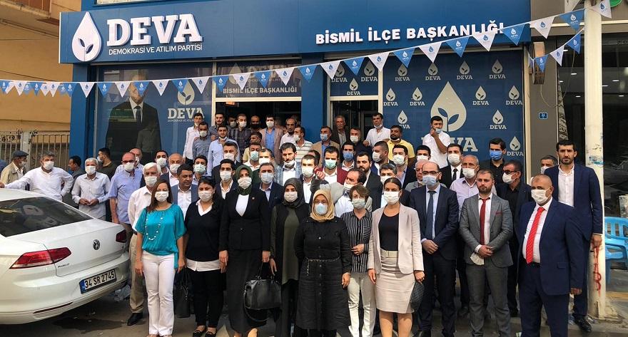 Deva Partisi Bismil İlçe Başkanlığı 1'nci Olağan Kongresi gerçekleştirildi.