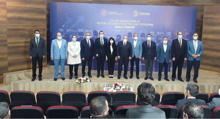 Sanayi ve Teknoloji Bakanı Mustafa Varank katıldığı imza töreni ile proje hayata geçiyor.