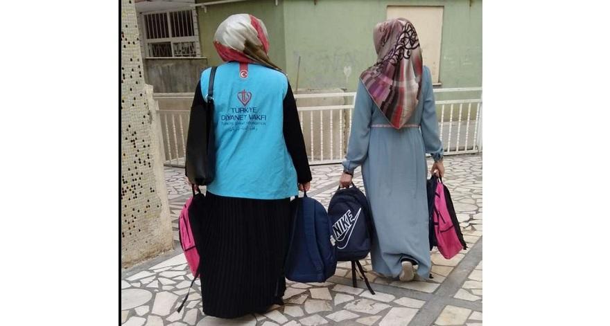 """Diyarbakır'da """"Yetimler emanetimizdir"""" yardım kampanyası başlatıldı"""