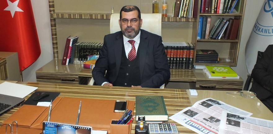 İlçe Müftüsü Ahmet Durmuş'un Mevlid Kandili Mesajı