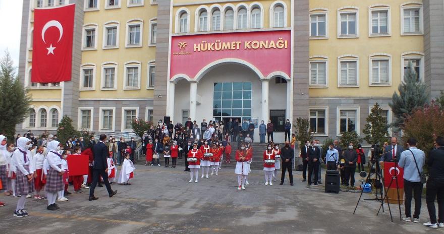 Bismil'de 29 Ekim Cumhuriyet Bayramı Kutlandı