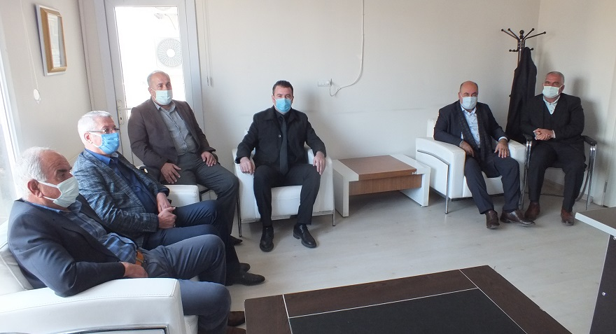 AK Parti'den Gazetemize 10 Ocak Ziyareti