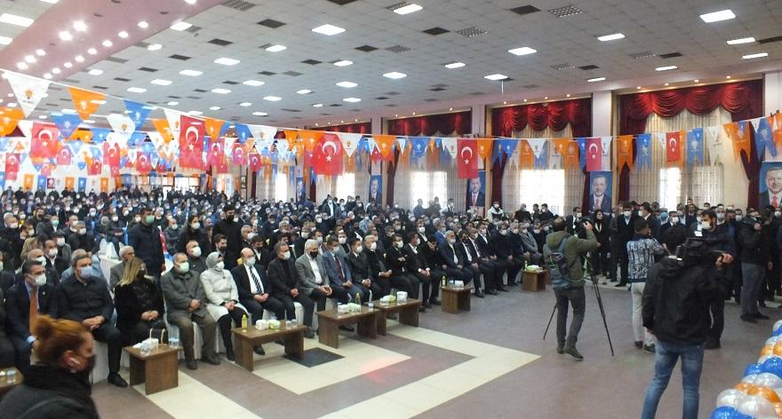 AK Parti Bismil 7. Olağan Kongresi yapıldı