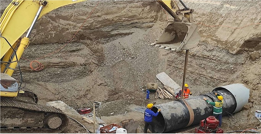 Bismil Atıksu Arıtma Tesisinde çalışmalar hızla devam ediyor