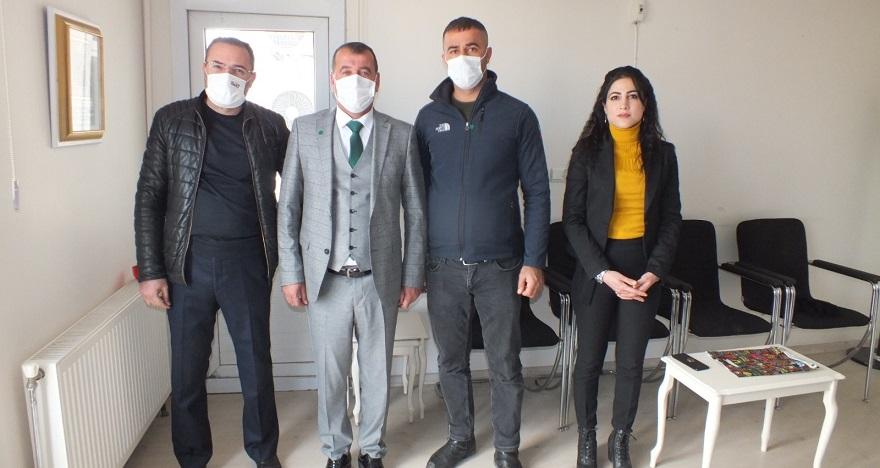 Gelecek Partisin 'den gazetemize ziyaret