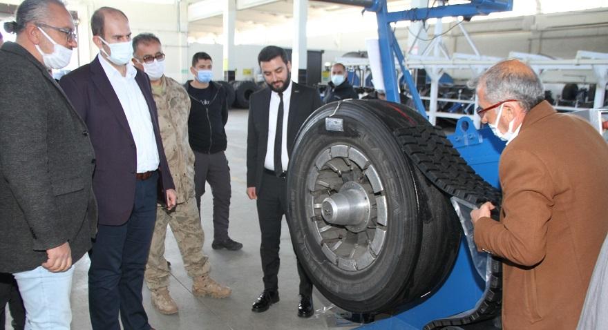 Kaymakam Türkmen'den İstihdama Katkı Sunan Fabrikaya Ziyaret.