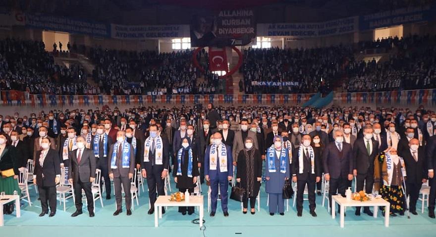 AK Parti Diyarbakır İl kongresi yapıldı