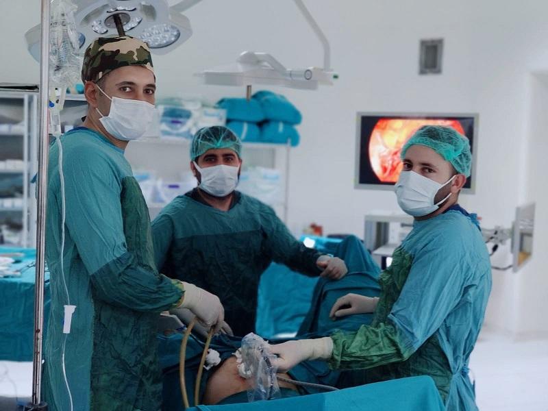 Bismil Devlet Hastanesinde Kapalı Ameliyat