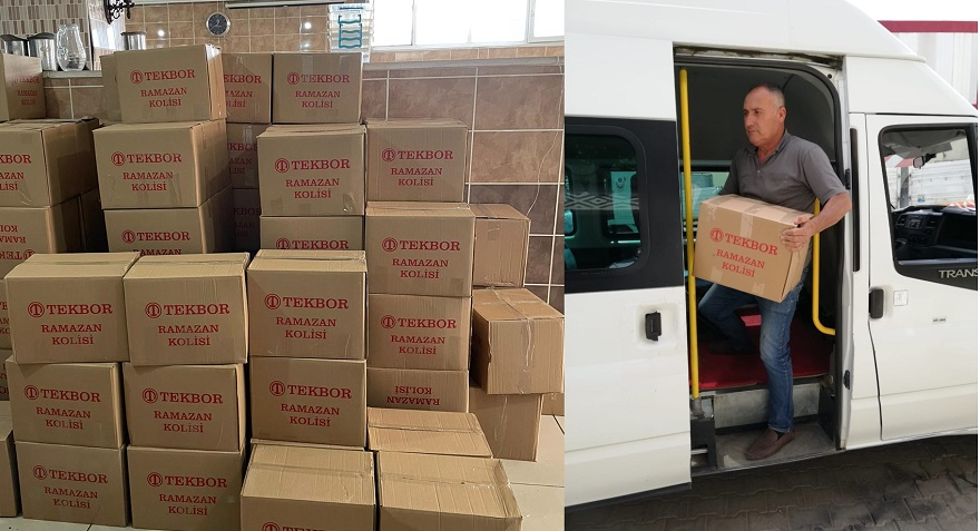 İhtiyaç Sahibi 1000 Aileye Gıda Kolisi Dağıtıldı