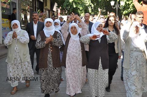 Bismil'de Tecrit protestosu