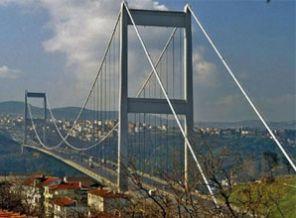 Bir boğaz köprüsü'de Adıyaman - Diyarbakır için