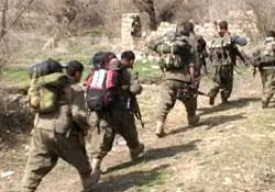 PKK, 4 İşçiyi Kaçırdı İş Makinelerini Ateşe Verdi