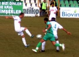 Diyarbakırspor'un Şeker'i düştü 1-0