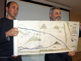 Evliya Çelebi'den Dicle Fırat haritası