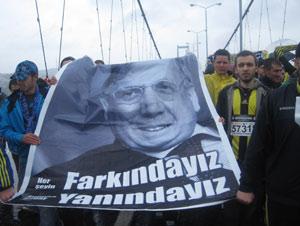 Fenerbahçeliler Kadıköy mitingi başladı