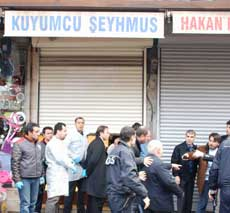 Diyarbakır'da kuyumcu cinayeti