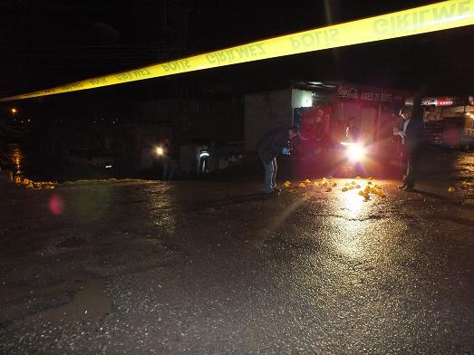 Bismil'de Polise Saldırı 1'i ağır 2  polis yaralandı.