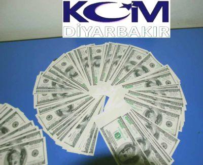 Diyarbakır'da 25 Bin Sahte ABD Doları