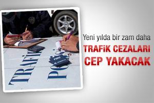 Yeni yılda ağır trafik cezaları