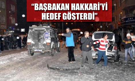 BDP'li Vekilden Başbakan'a Şok Suçlama