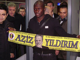 Moussa Sow İstanbul'a geldi