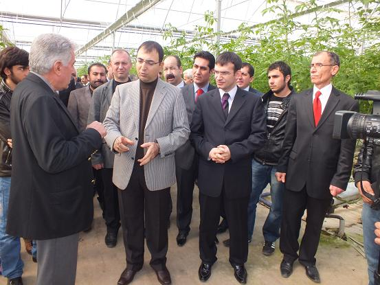 Diyarbakır Valisi Mustafa Toprak Bismil'de